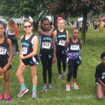 Coed Middle School Cross Country did great at Monroe Milers invitional