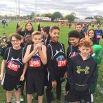 Coed Middle School Cross Country finishes strong at Gabriel Richard invite