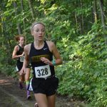 Kailyn Allmon runs to Regional Cross Country Championship