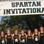 LakeVille XC Runner Medals at Spartan Invite