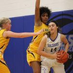 Girls Varsity Basketball falls to Genesee Christian 57 – 35