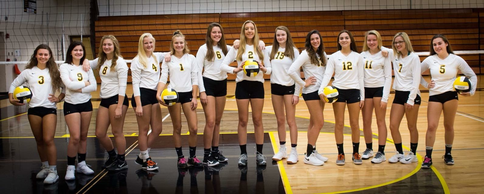 Volleyball Team earns Academic All-State Honors