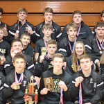 Varsity Wrestling finishes 1st place at Marlette Team Tournament