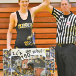 Wrestling Results and Zach Young Wins 150