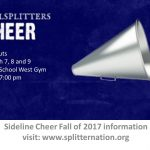 MS/HS Cheer Tryouts