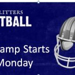 HS Mini Football Camp starts Monday 6/5