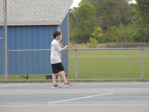 Varsity Boys Tennis vs Fordson