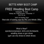 Betts' Army Boot Camp
