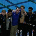 Men's Swim & Dive Break MORE Records, Secure State Meet Qualifiers!