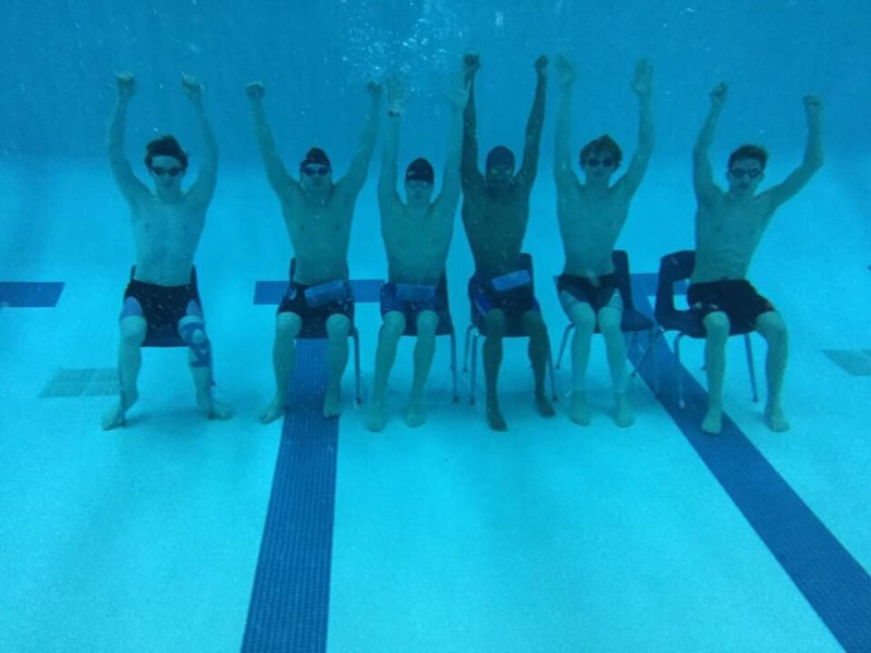 LHS Swimmers Leave Their Mark at MHSAA State Meet Prelims