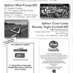 2018 Summer Splitter Football Camps