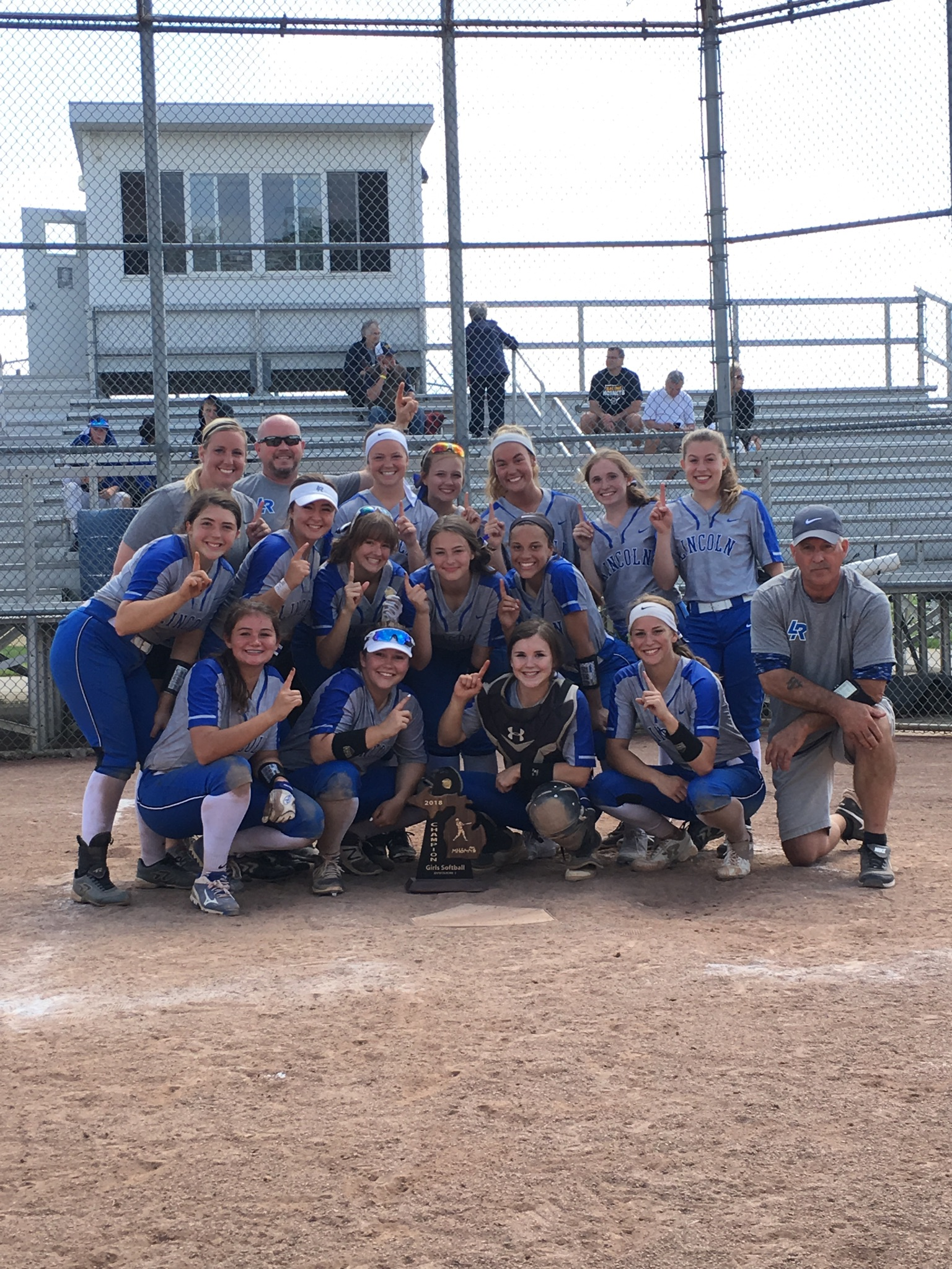Splitter Softball Earns Back-To-Back District Championship!