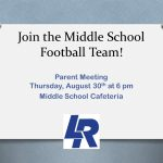 Join the 2018 Lincoln Middle School Football Teams!