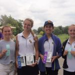 Golf 2nd in ACAC