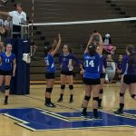 Lancer Volleyball Teams fall to Bethany Christian