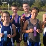 Jr. High Cross Country Awards – Nov. 5, 2014