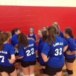 Jr. High Volleyball Teams Split with OD