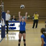 Varsity Volleyball Team Beats Knox in Straight Sets 3-0