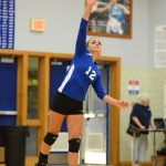 Volleyball Team Earns a Senior Night Victory