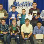 Jr. High Football Recognizes Award Recipients