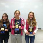 Award Recipients Named In Jr. High Cheer