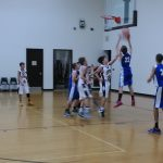 Jr. High Boys Basketball Teams Split with Jimtown