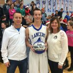 Blake Berger Becomes LaVille's 4th 1000 Point Club Member