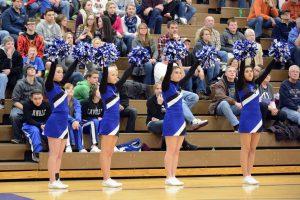 2014-15 LaVille Winter Cheerleading