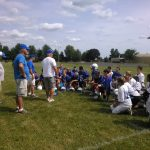 JH Football Lancers Hit Field For First Practice