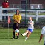 Girls Soccer Upends Rochester, 8-1, To Open IHSAA Sectional