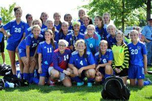 2015 Girls Soccer Bremen Invitational Champs!
