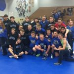 Wrestlers At Knox Super Dual Saturday
