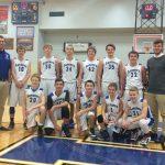 8th Grade Boys Basketball Earns HNAC Championship