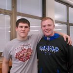 Correll, Steinke Set For Semi-State Wrestling Challenge