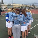 LaVille High School Girls Varsity Tennis falls to Triton High School 5-0