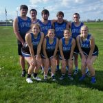 LaVille High School Girls Varsity Track finishes 2nd place