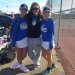 LaVille High School Girls Varsity Tennis beat North Judson-San Pierre High School 3-2