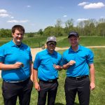 LaVille High School Boys Varsity Golf finishes 3rd place