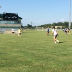Girls Soccer Getting Ready For Scrimmage