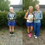 LaVille High School Girls Varsity Tennis finishes 3rd place