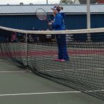 LaVille High School Girls Varsity Tennis beat North Judson-San Pierre High School 3-2