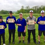 LaVille High School Boys Varsity Golf finishes 2nd place