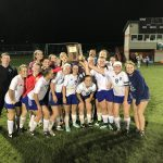 LaVille High School Girls Varsity Soccer beat Sectional Championship 4-1