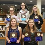 LaVille Lady Hoops Hold Awards Recognition