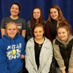 LaVille Cheer Holds Awards Recognition