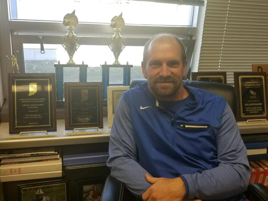Hostrawser Named IIAAA Athletic Director Of The Year
