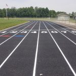 UPDATE: Athletic Project Gets New Lines, Markings, And Numbers Added To Track
