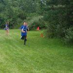 Krom, Hulsey Lead Co-Ed JH Track In Five-Team Field