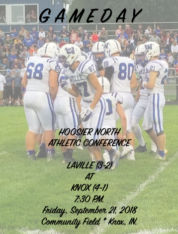 Plenty On Line As LaVille Football Travels To Knox