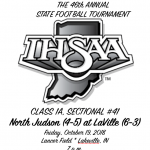 GAME INFORMATION: North Judson-San Pierre at LaVille
